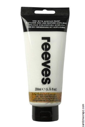 Reeves 200ml CoarseTexture Gel