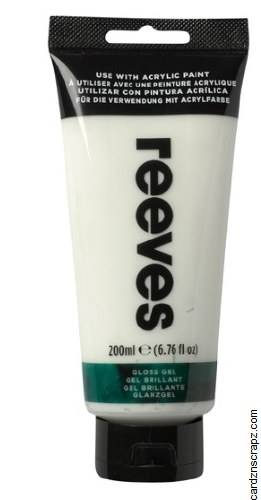 Reeves 200ml Gloss Gel Medium