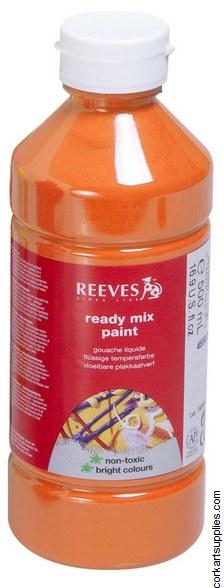 Redimix 500ml Reeves Orange