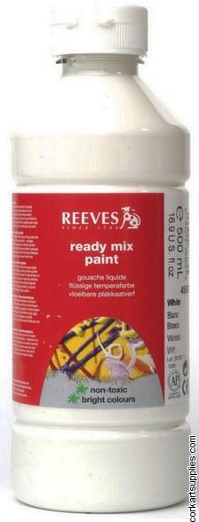 Redimix 500ml Reeves White