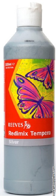 Redimix 500ml Reeves Silver