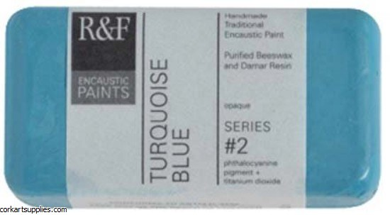 Encaustic R&F 40ml Turquoise