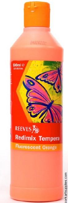 Redimix 500ml Reeves Fluorescent Orange