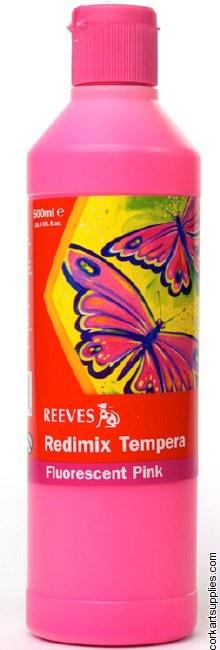 Redimix 500ml Reeves Fluorescent Pink