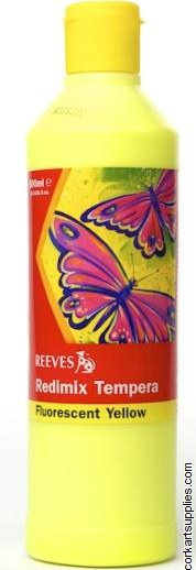 Redimix 500ml Reeves Fluorescent Yellow