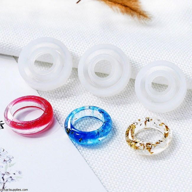CAS Silicone Ring Moulds 3pk