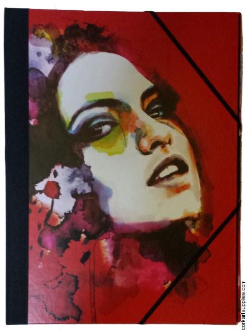 Portfolio Red Girl A3