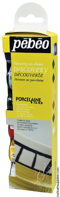 Pebeo Porcelaine 150 6pk 20ml