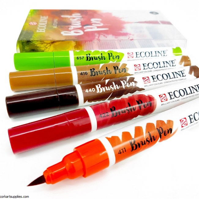 Ecoline Brush Pens Autumn 5pk