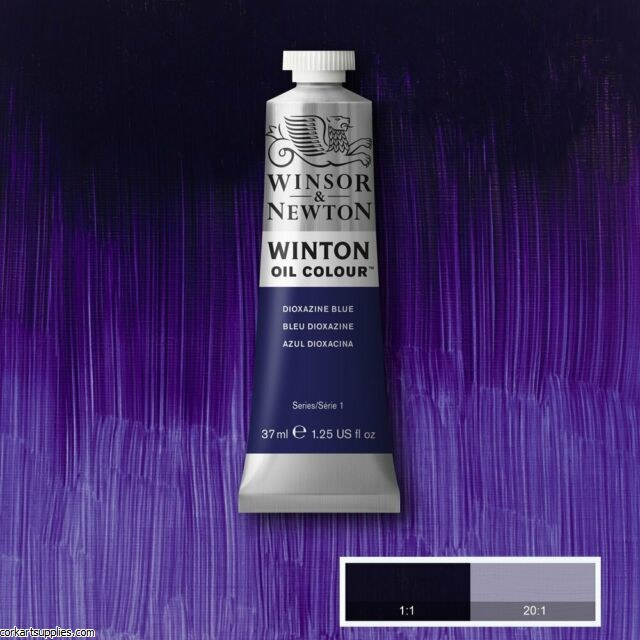 Winton 37ml Dioxazine Blue