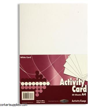 A4 Card 160gm White 250pk