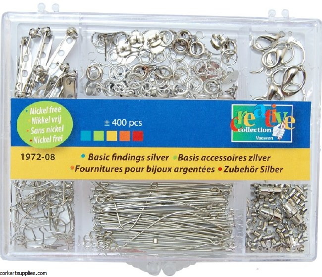 Jewellery Finding Set 400pk