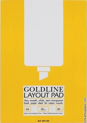 Layout Pad A3 Goldline 50gm