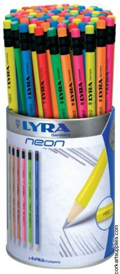 Pencil Lyra Neon HB