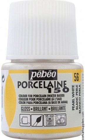Porcelaine 150 45ml Pearl White