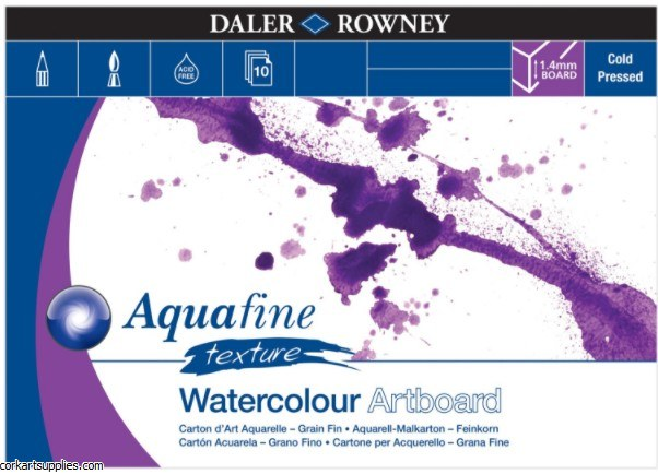 Aquafine Watercolour Artboard 1.4mm A4 10 Sheets