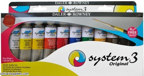 System 3 Set 37ml Studio 10pk