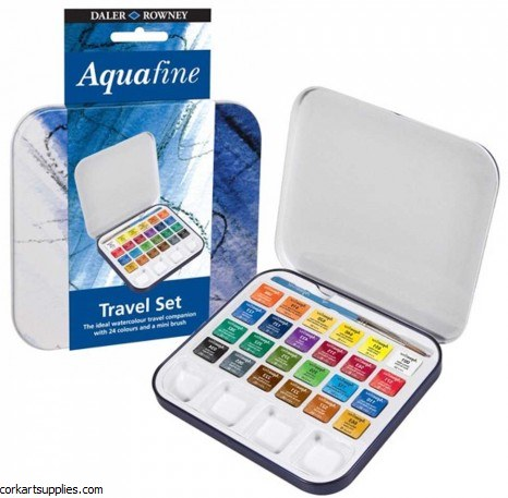 Aquafine Set Travel Tin 24pk