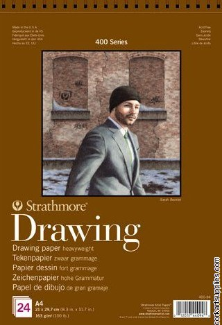 Strathmore Draw 163g A4 24sh