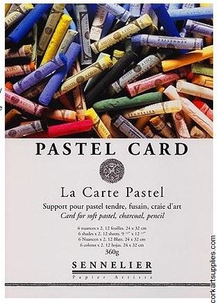Pastel Brd Pad Sennelier 15x12