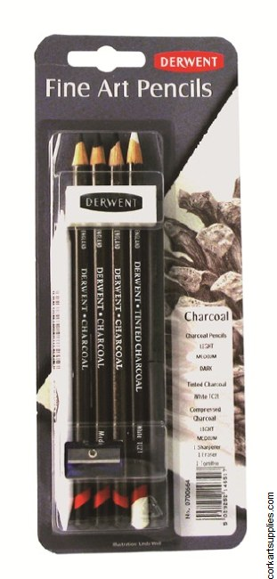 Derwent Charcoal Mix Media 9pk