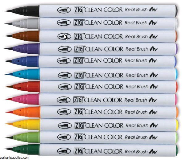 ZIG Clean Color Asst 12pk