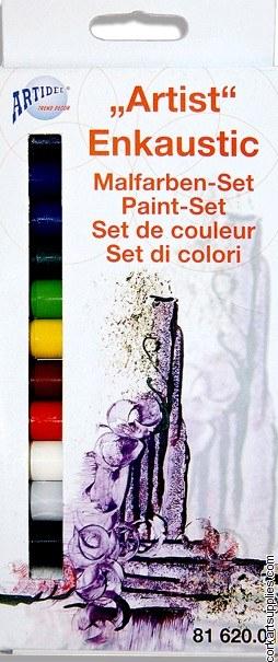 Encaustic Wax Artist Set 14pk