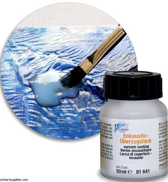 Encaustic Wax Sealer 50ml Gloss