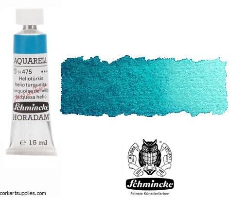 Horadam Aquarell 15ml Helio turquoise