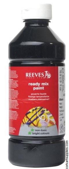 Redimix 500ml Reeves Black