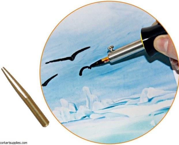 Encaustic Iron Drawing Tip 35mm