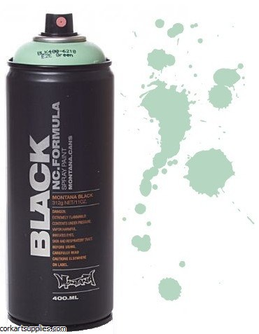 Montana BLACK Spray 400ml - Green E2E^