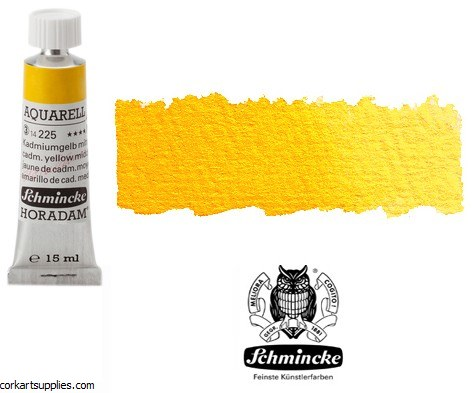 Horadam Aquarell 15ml Cadmium yellow middle