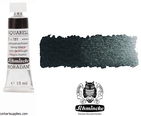 Horadam Aquarell 15ml Lamp Black