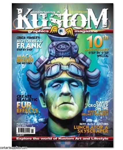Pinstriping & Kustom Mag #60