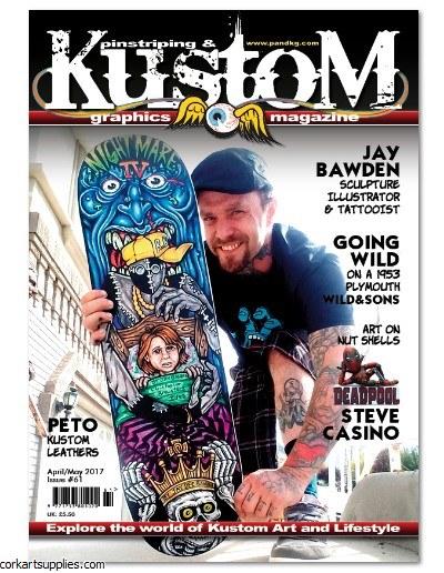 Pinstriping & Kustom Mag #61