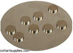 Magnets Extra Strong 10x2mm Round 8pk