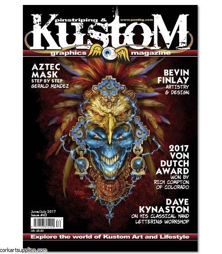 Pinstriping & Kustom Mag #62