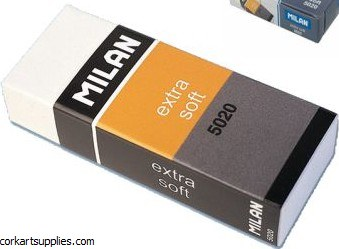 Eraser Milan Extra Soft 5020