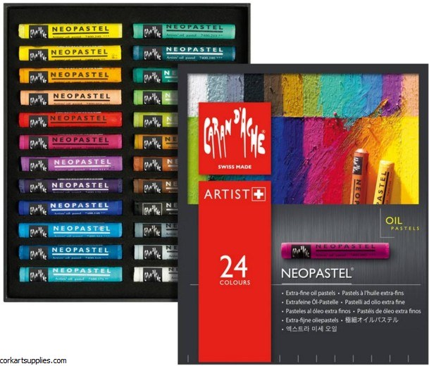 Neopastel Tin 24 Pack Assorted