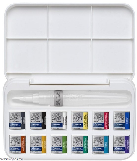 Cotman Waterbrush Set 12pk