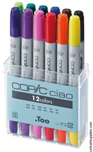 Copic Ciao 12pk Basic Set