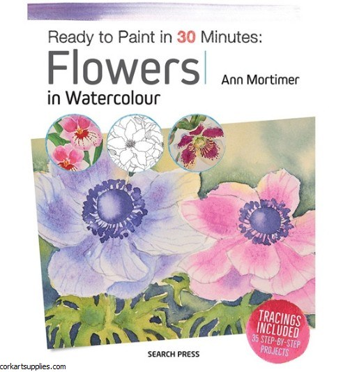 Book Flowers in Watercolour