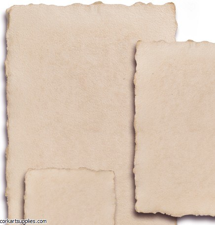 Handmade Paper 250gm B4 5pk Antique Cream
