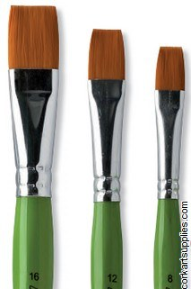 Brush Junior Flat 8mm No 8