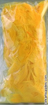 Feathers 10g Yellow
