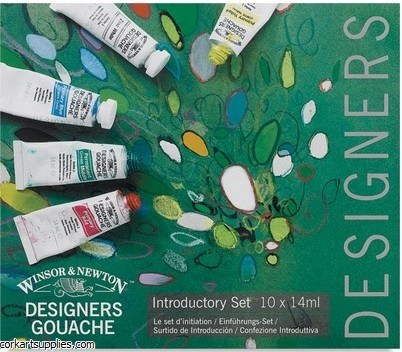 Designer Gouache. Introduction Set