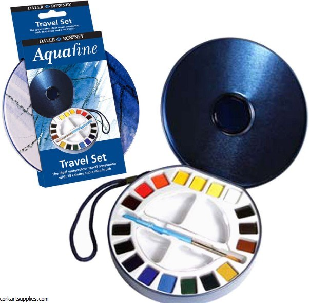 Aquafine Set Travel CD 18pk