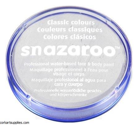 Snazaroo 18ml White
