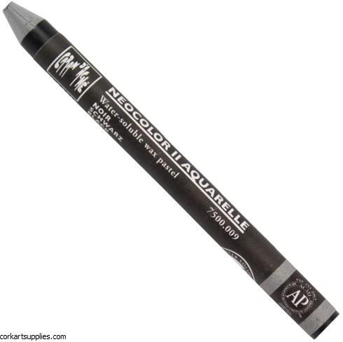 Neocolor II 009 Black